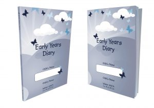 Butterfly Print Early Years Diary 2016