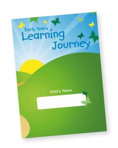 Butterfly Print Early Years Learning Journey COver