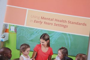 Butterfly Print Early YEars: Using mental health Standards in Early Years Settings