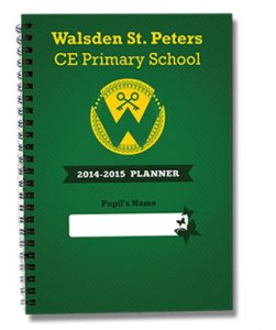 Butterfly Print Primary Planner