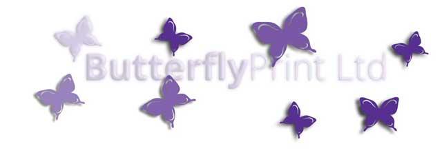Butterfly Print Logo