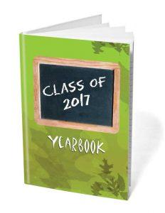 BabyShark Hardback Case Bound yearbooks