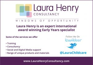Butterfly Recommends: Laura Henry is an expert international award winning Early Years specialist