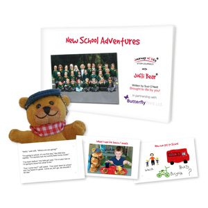 Jofli Bear New School Adventures Pack