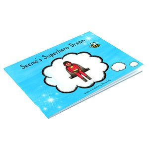 Early Years Story Box Seema's Superhero Dream