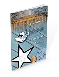 BabyShark Paperback Perfect Bound yearbooks