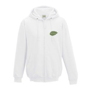 Butterfly Print Personalised Adult Zipped Hoodies