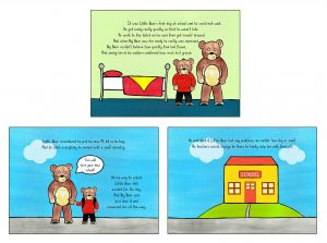 Little Bear's First Day at School inner pages (1)