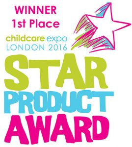 Butterfly Print Childcare Expo 2016 Star Product