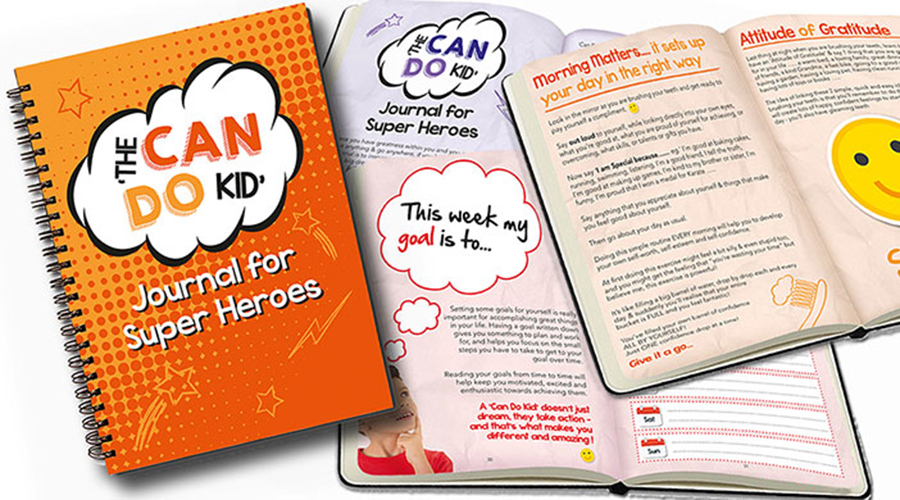 Can Do Kid Journal for Superheroes
