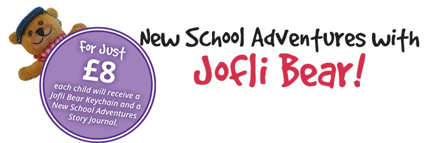 Jofli Bear - New School Adventures Pack