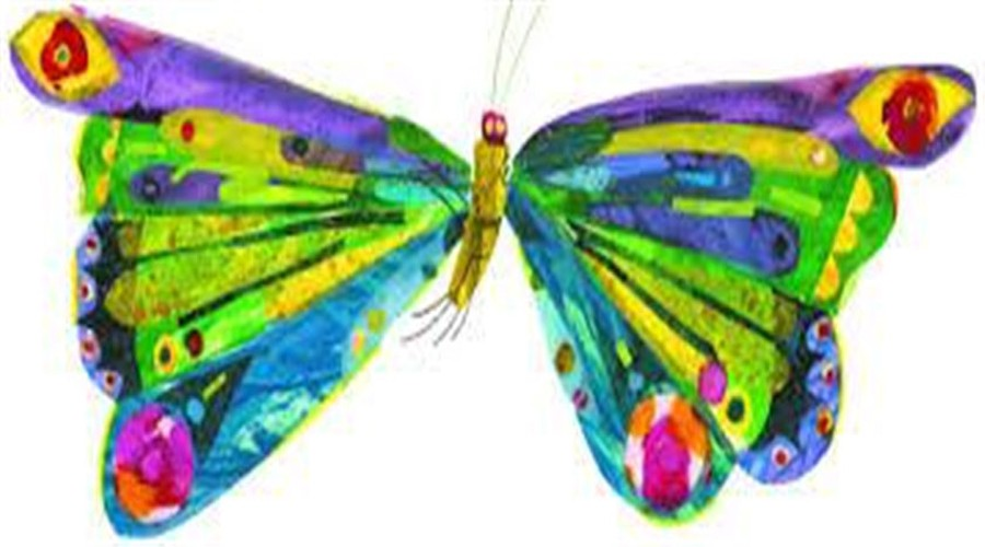 "Eric Carle's ""Very Hungry Caterpillar"" butterfly"