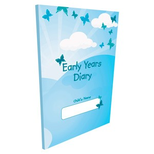 Butterfly Print Early Years Diary