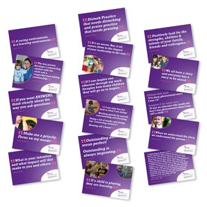 Inspiring Early Years Quotes in the 'Inspire Poster Pack'