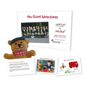 Jofli Bear New School Adventures Pack
