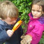 Curious kids!