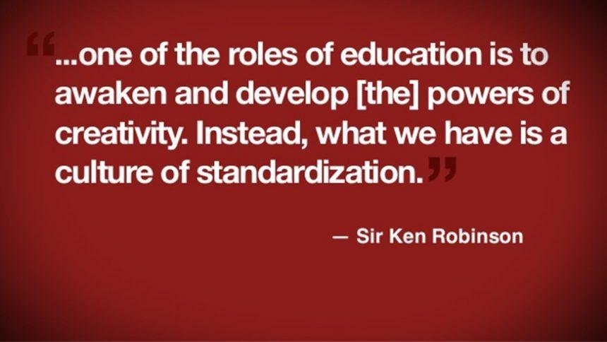 Sir Ken Robinson on Creativity