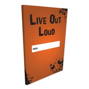 Butterfly Print Live Out Loud Self Awareness Journal