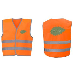 Butterfly Print Toddler's Hi-Viz vests