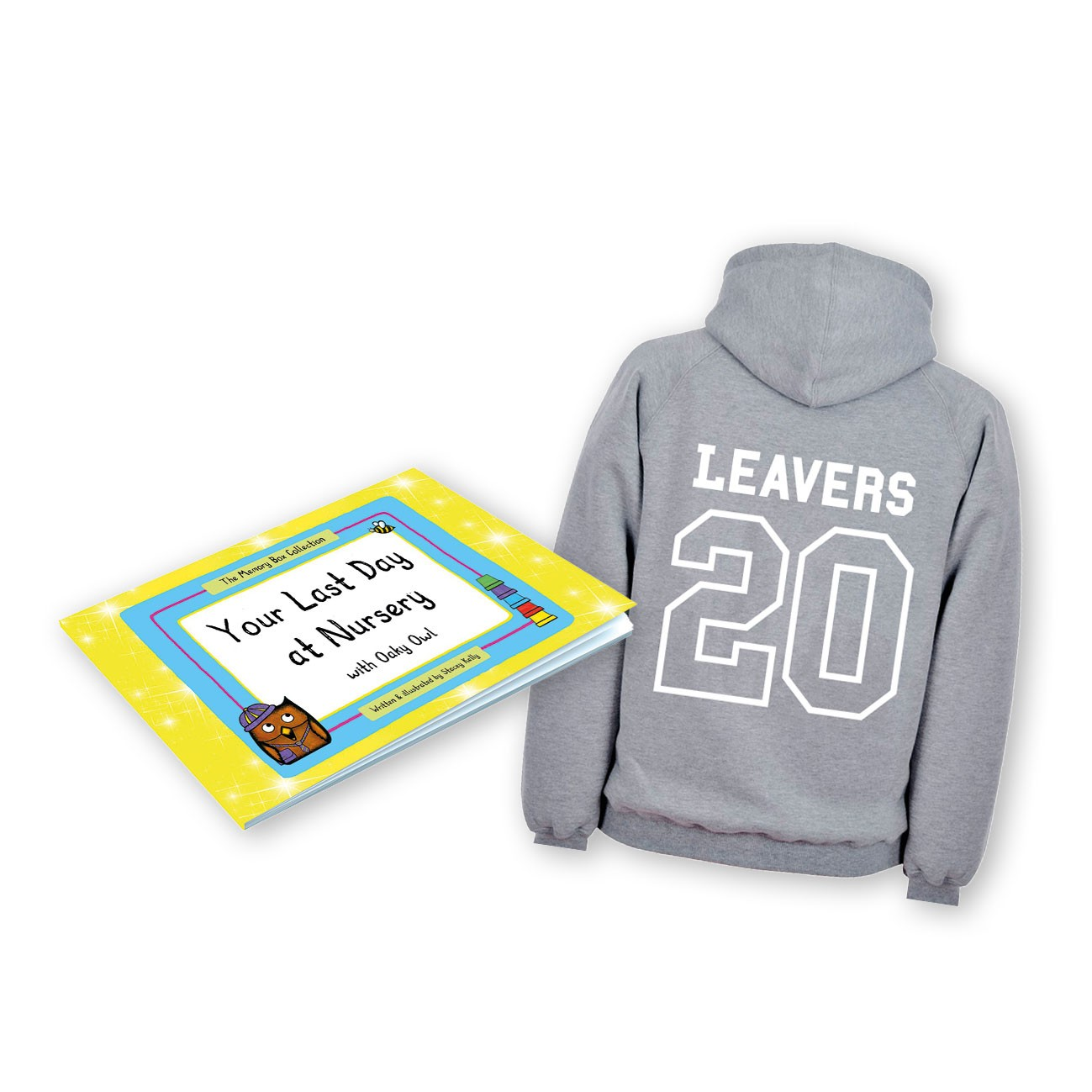 Early Years Leavers Gift Set with grey hoodie