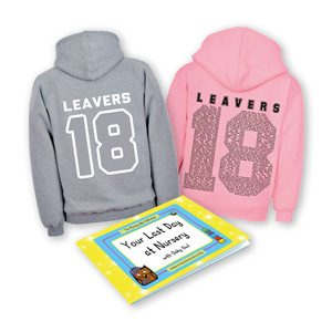 early years leavers gift set (hoodie and book)