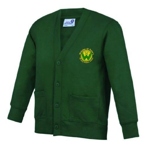 Walsden Uniform Logo Cardigan
