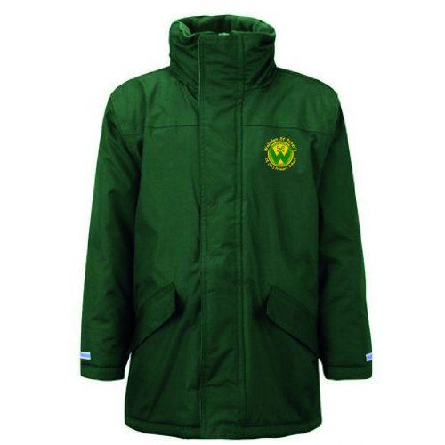 Walsden Uniform Logo Waterproof Coat