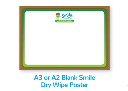 Smile Emotional Wellbeing Resource Kit: A2 or A3 Drywipe Poster